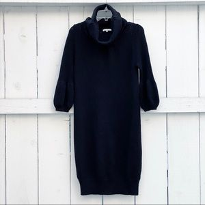 NWOT VINCE KNIT TURTLENECK SWEATER MIDI CALF DRESS